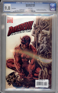 DAREDEVIL #100  9.8 WHITE PAGES (BERMEJO VARIANT)