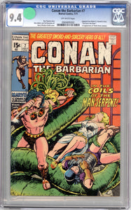 CONAN #7  9.4   OFF WHITE PAGES