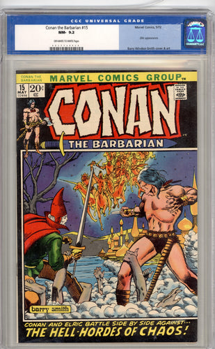 CONAN #15  9.2   OFF WHITE TO WHITE PAGES