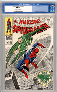 AMAZING SPIDER-MAN #64  9.4  OFF WHITE TO WHITE PAGES