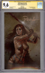 RED SONJA #20  CGC SS 9.6  (SIGNED BY PARRILLO)