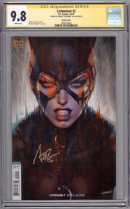 CATWOMAN #2 CGC SS 9.8  (SIGNED BY ARTGERM)