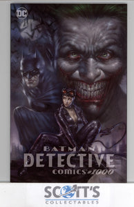 DETECTIVE COMICS #1000  PARRILLO SCORPION VARIANT (TRADE AND VIRGIN SET)