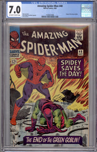 AMAZING SPIDER-MAN #40 CGC 7.0  (OFF WHITE TO WHITE PAGES)
