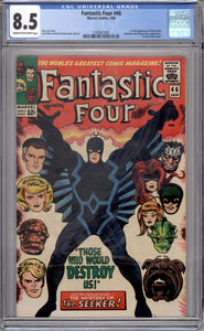 FANTASTIC FOUR #46 CGC 8.5 (CREAM TO OFF-WHITE PAGES) 1ST BLACK BOLT