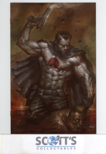 BLOODSHOT  #1 NM  (NYCC PARRILLO VIRGIN VARIANT) LTD TO 100 WITH COA