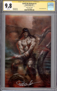 CONAN #1 VIRGIN COVER CGC SS 9.8  (SIGNED BY LUCIO PARRILLO)
