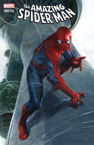 Amazing Spider-Man #800 Trade Dress Gabriele Dell'Otto Scott's Collectables Exclusive Cover