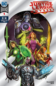 Justice League Odyssey #1 Sejic Foil NYCC 2018 Exclusive Cover