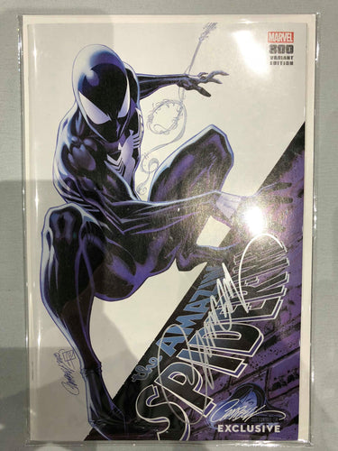 SIGNED Amazing Spider-Man #1 J Scot Campbell Cover I SDCC Exclusive Cover