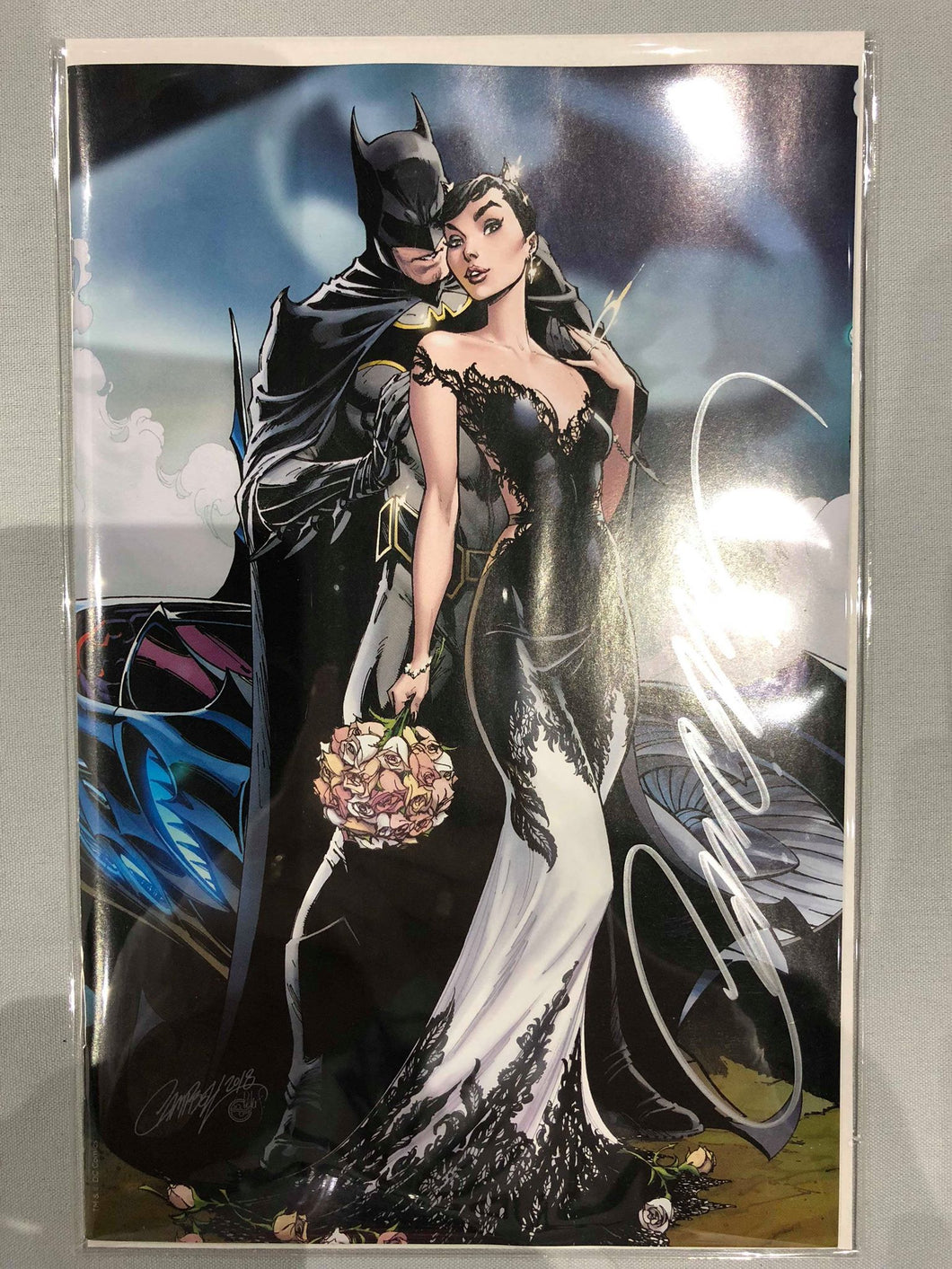 SIGNED Batman #50 J Scot Campbell Cover F SDCC Exclusive Cover