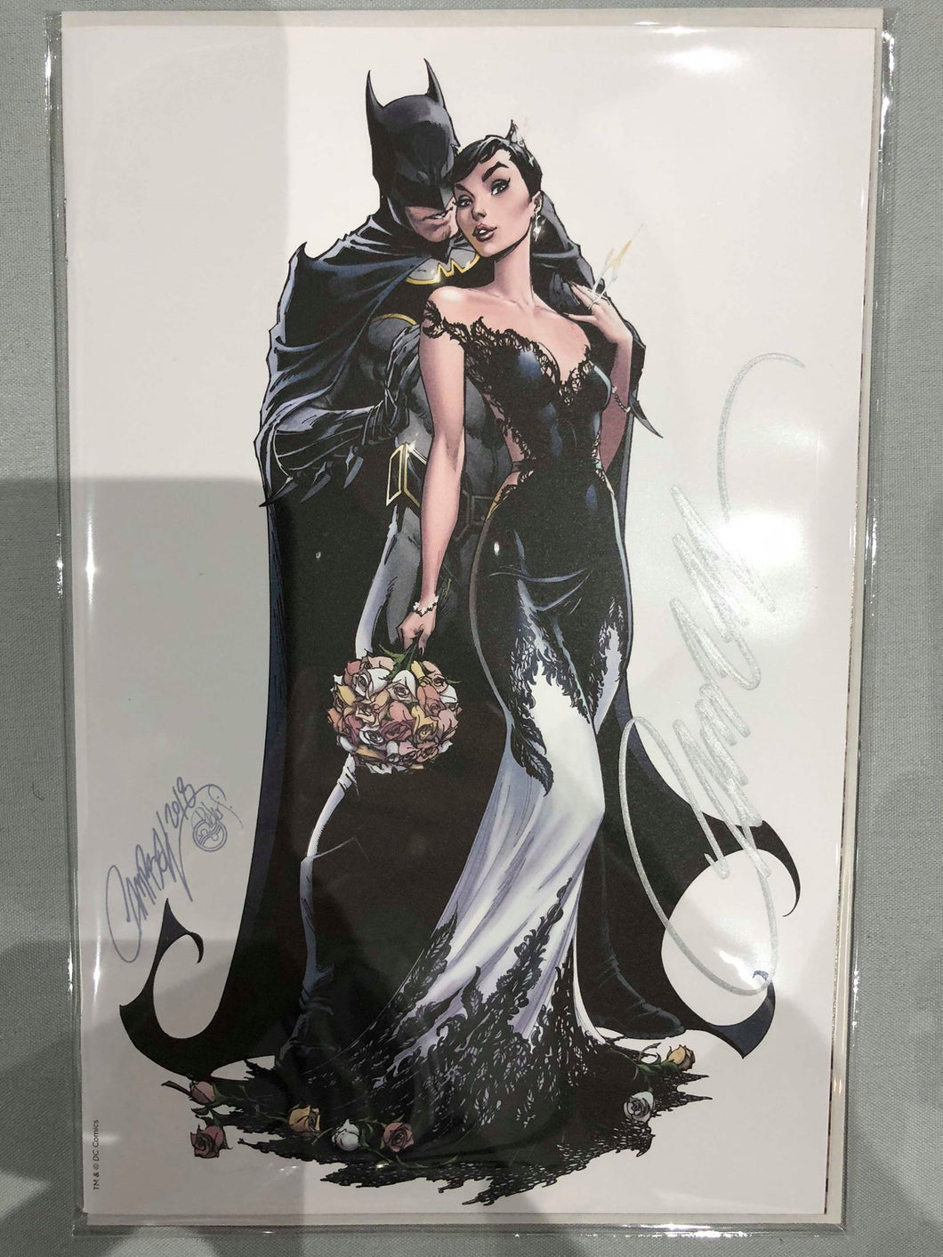 SIGNED Batman #50 J Scot Campbell Cover G SDCC Exclusive Cover
