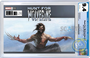 TRADE DRESS CGC 9.4 Hunt for Wolverine #1 Gabriele Dell'Otto Scott's Collectables Variant Cover