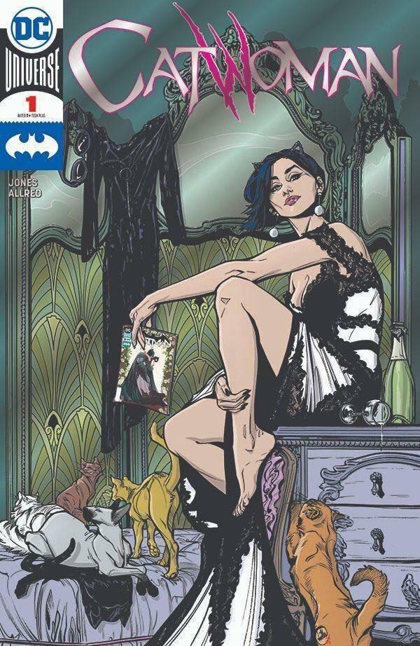 Catwoman #1 Foil SDCC Exclusive Cover