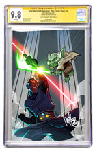 STAR WARS ADVENTURES - THE CLONE WARS BATTLE TALES  #4  MEL MILTON VIRGIN COVER