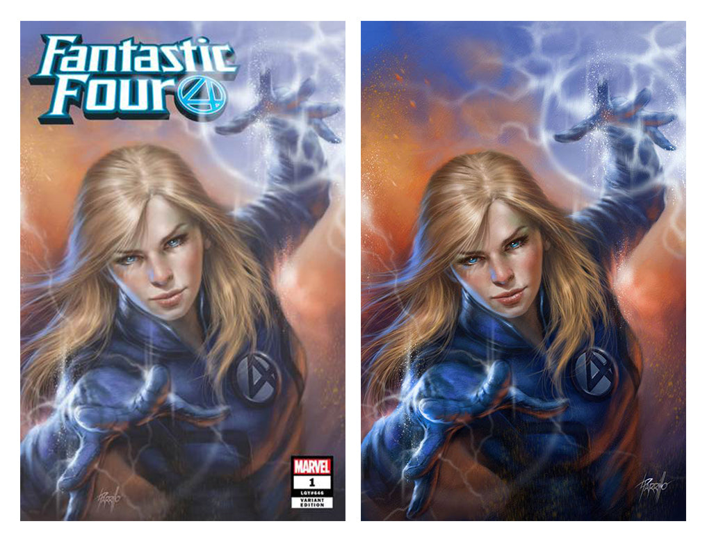 Fantastic Four #1 Two Cover Set Lucio Parrillo Exclusive Covers