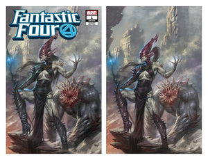 Fantastic Four #1 Villain Two Cover Set Lucio Parrillo Exclusive Covers
