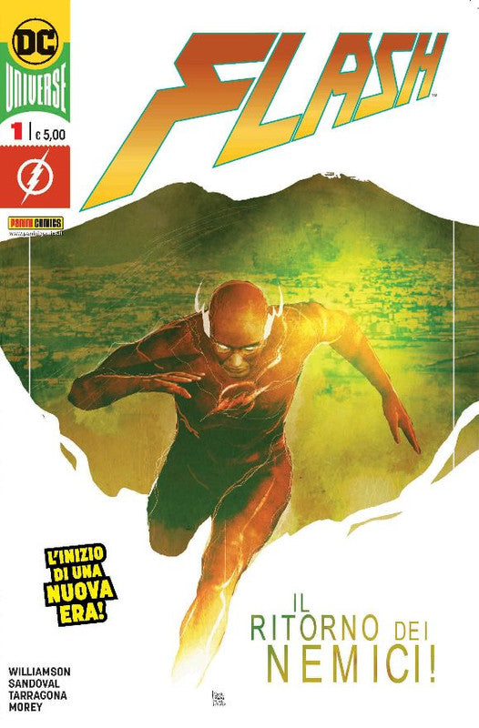 FLASH #1 SORRENTINO PANINI ITALY VARIANT