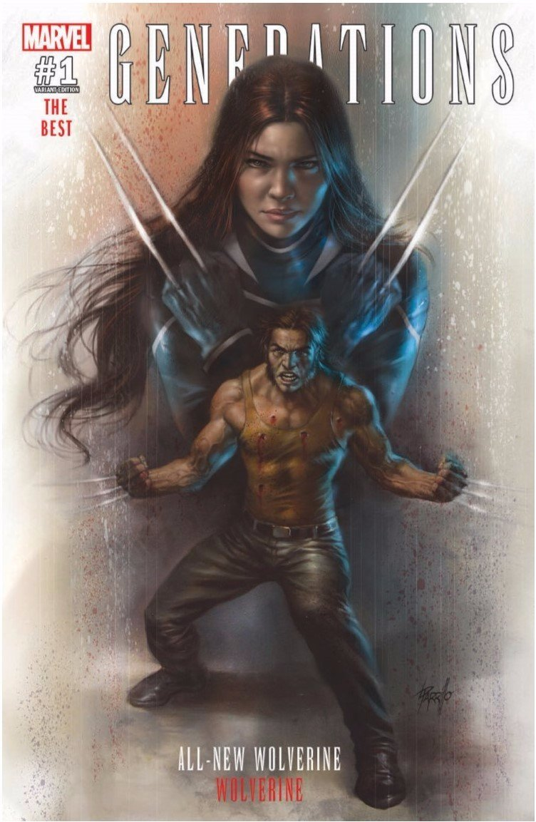 Generations Wolverine & All-New Wolverine #1 Cover A Regular Lucio Parrillo Exclusive Cover