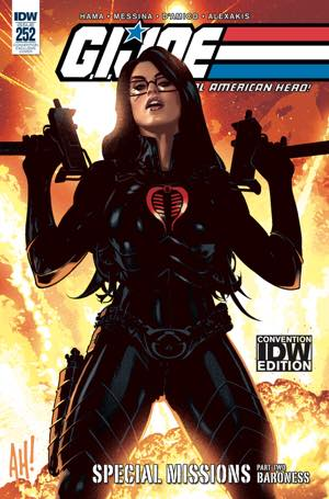 GI Joe #252 Adam Hughes SDCC Exclusive Cover