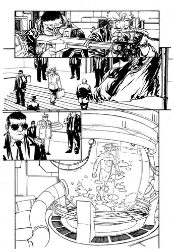 Hardcore #1 Original art - Page 12 by Alessandro Vitti