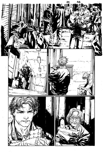 Hardcore #1 Original art - Page 14 by Alessandro Vitti
