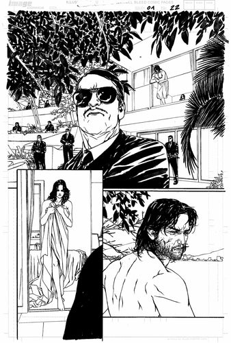 Hardcore #1 Original art - Page 22 by Alessandro Vitti