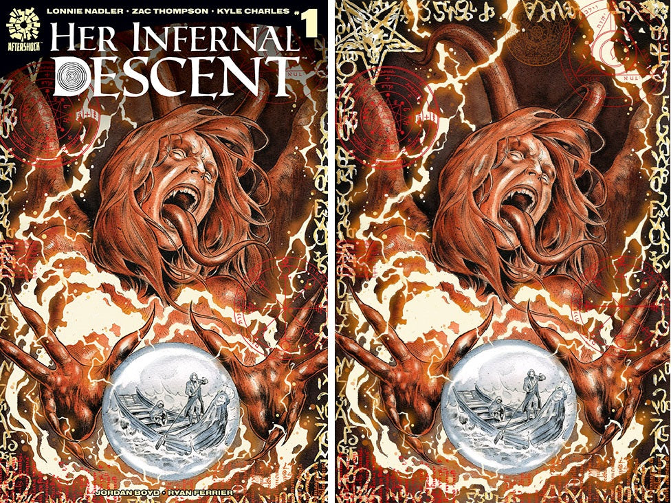 Her Infernal Descent #1 Two Cover Set Gianluca Gugliotta Exclusive Covers