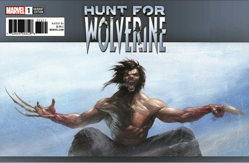 Hunt for Wolverine #1 Trade Dress Gabriele Dell'Otto Scott's Collectables Exclusive Cover