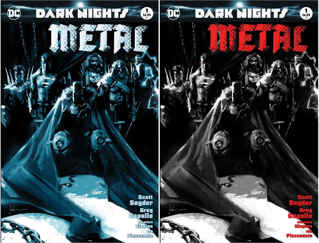 Dark Nights Metal #1 Two Cover Set Jock Exclusive Covers