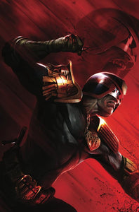Judge Dredd #1 Megacon Francesco Mattina Scott's Collectables Virgin Exclusive Cover