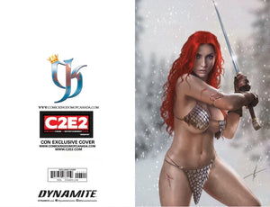 RED SONJA AGE OF CHAOS #2 CARLA COHEN C2E2 EXCLUSIVE