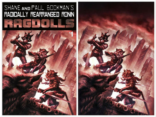 RADICALLY REARRANGED RONIN RAGDOLLS #1 QUAH EXCLUSIVE VIRGIN & TRADE VARIANT COVER SET