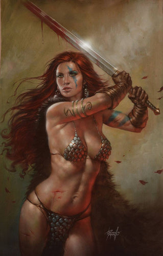 Red Sonja #20 Parrillo NYCC 2018 Scott's Collectables Exclusive Cover