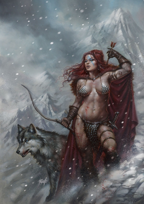 RED SONJA #4  (LUCIO PARRILLO MEGACON VARIANT)