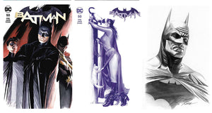 Batman #50 Alex Ross SDCC Exclusive Covers 3 Set