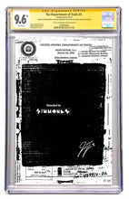 DEPARTMENT OF TRUTH #9 REDACTED BLANK VARIANT