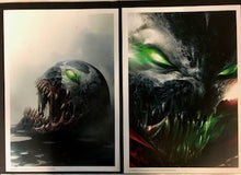 SPAWN MATTINA PORTFOLIOS (DOUBLE SIGNED MCFARLANE AND MATTINA)
