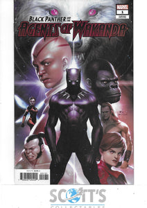 BLACK PANTHER AGENTS OF WAKANDA #1  NM  (1:50 INHYUK LEE VARIANT)