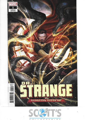 DOCTOR STRANGE SURGEON SUPREME #1 NM (1:50 INHYUK LEE VARIANT)