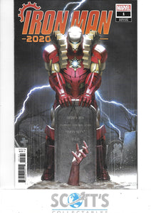 IRON MAN 2020 #1  NM  (1:50 INHYUK LEE VARIANT)