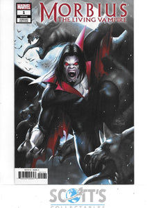 MORBIUS THE LIVING VAMPIRE #1 NM  (1:50 INHYUK LEE VARIANT)