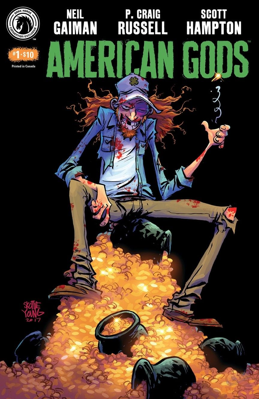 American Gods #1 Skottie Young SDCC Exclusive Cover