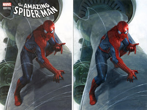 Amazing Spider-Man #800 Two Cover Set Gabriele Dell'Otto Scott's Collectables Exclusive Covers 1,000 LIMITED VIRGIN