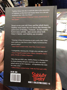SIGNED Stabbity Bunny Hardback SDCC Exclusive Cover