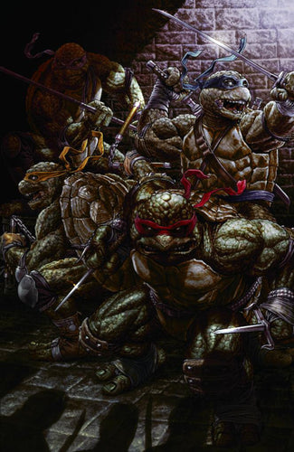SIGNED TMNT #84 SDCC Lee Bermejo Scott's Collectables Virgin Exclusive Cover