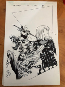 TALES OF SUSPENSE #100 ORIGINAL COVER ART BY MARCO CHECCHETTO