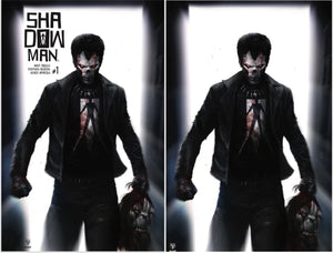 Shadowman #1 Two Cover Set Francesco Mattina Scott's Collectables Exclusive Covers 500 LIMITED VIRGIN