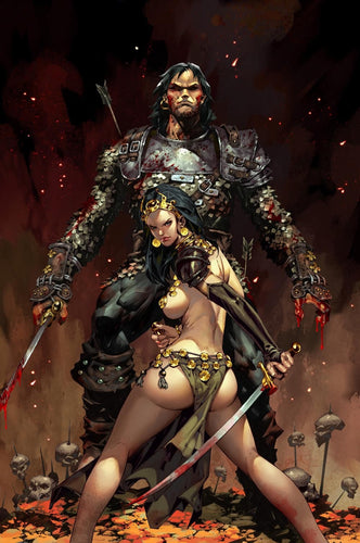 CIMMERIAN - QUEEN OF THE BLACK COAST #1 KAEL NGU VARIANT