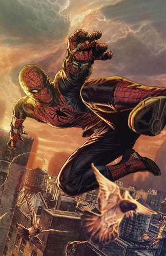 SPIDER-MAN #1  MIDTOWN BERMEJO VIRGIN NYCC VARIANT